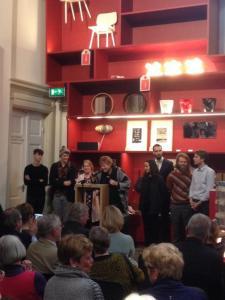 Volkskrant Beeldende Kunst Prijs 2015 met 5 kunstkaartjes